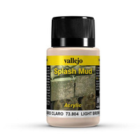 Light Brown Splash Mud Weathering Effect 40ml Bottle Vallejo