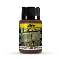 Brown Splash Mud Weathering Effect 40ml Bottle Vallejo