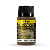 European Thick Mud Weathering Effect 40ml Bottle Vallejo