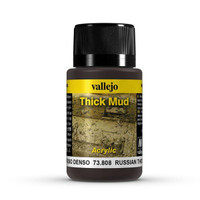 Russian Thick Mud Weathering Effect 40ml Bottle Vallejo