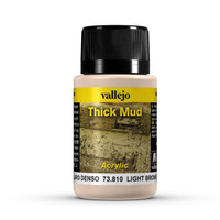 Light Brown Thick Mud Weathering Effect 40ml Bottle Vallejo
