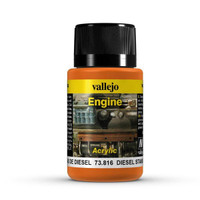 Diesel Stains Weathering Effect 40ml Bottle Vallejo
