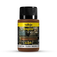 Brown Engine Soot Weathering Effect 40ml Bottle Vallejo