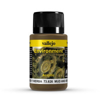 Mud & Grass Weathering Effect 40ml Bottle Vallejo