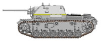 Soviet Su76i Tank Destroyer w/Self-Propelled Gun 1/35 Dragon
