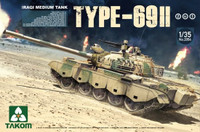 Iraqi Type 69 II Medium Tank 1/35 Takom Models