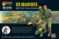 Bolt Action: WWII US Pacific Theatre Marines (30) (Plastic) 28mm Warlord Games