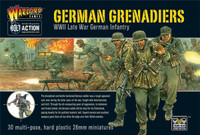 Bolt Action: WWII Late War German Grenadiers (30) (Plastic) 28mm Warlord Games