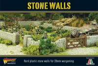"Stone Walls (54"" Modular Sections) 28mm Warlord Games"