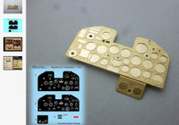 P-47 Thunderbolt Instrument Panel (Photo-Etch & Decal) for KIN 1/24 Airscale