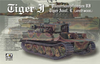 SdKfz 181 Tiger I Late Tank 1/35 AFV Club