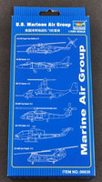 US Marines Air Group Aircraft and Helicopter Set 1/350 Trumpeter
