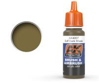 Buff Dark Shade Acrylic Paint 17ml Bottle Ak Interactive