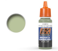 APC Interior Light Green Acrylic Paint 17ml Bottle Ak Interactive