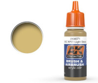 Khaki Drab Acrylic Paint 17ml Bottle Ak Interactive