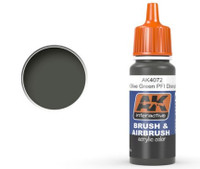 Khaki Green Acrylic Paint 17ml Bottle Ak Interactive