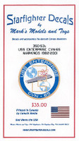 USS Enterprise CVN-65 1982-01 for TAM 1/350 Starfighter Decals
