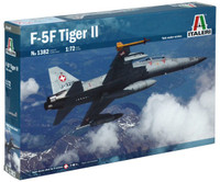 F-5F Tiger II Twin-Seater Trainer Aircraft 1/72 Italeri
