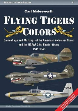 Warplane Color Gallery 1: Flying Tigers Colors Camouflage & Markings ...