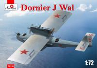 Dornier J Wal German Flying Boat 1/72 A-Model