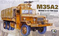 M35A2 2.5-Ton 6X6 Cargo Truck 1/35 AFV Club