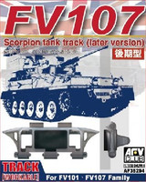 FV107 Scimitar CVR(T) Late Version Family Workable Track Links 1/35 AFV Club
