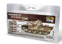 German Camouflage Weathering Set AMMO of Mig Jimenez