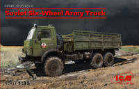 Soviet Six-Wheel Army Truck 1/35 ICM Models
