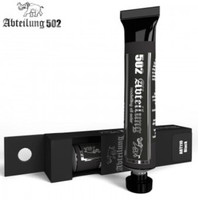 Weathering Oil Paint Black 20ml Tube Abteilung 502