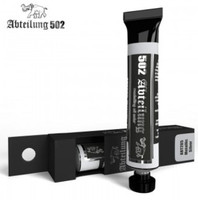 Weathering Oil Paint Metallic Silver 20ml Tube Abteilung 502