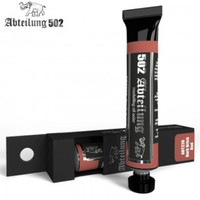 Weathering Oil Paint Dark Brick Red 20ml Tube Abteilung 502