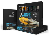 Aircraft Effects Weathering Oil Paint Set (6 Colors) 20ml Tubes Abteilung 502