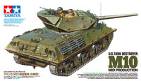 US M10 Mid Production Tank Destroyer w/3 Crew 1/35 Tamiya