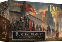 Deus Vult Medieval Russian Infantry (25) 28mm Fireforge Games
