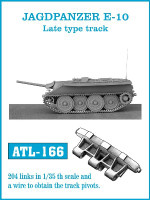Jagdpanzer E10 Late Track Set (204 Links) 1/35 Friulmodel