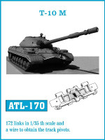 T10M Track Set (172 Links) 1/35 Friulmodel