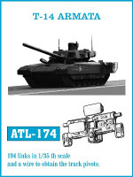 T14 Armata Track Set (194 Links) 1/35 Friulmodel