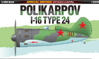 Polikarpov I16 Type 24 Fighter (Special Edition) 1/48 Academy