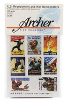 US Recruitment & War Bond Posters 1/35 Archer Transfers