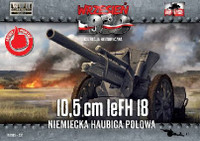 10,5cm leFH18 German Field Howitzer 1/72 First To Fight Models