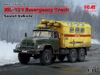 Soviet ZiL131 Emergency Army Truck 1/35 ICM Models