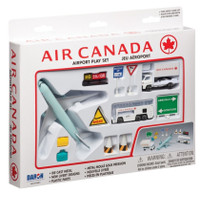 Air Canada Die Cast Playset (12pc Set) Real Toy