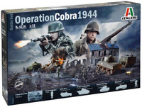 Operation Cobra Battle Diorama Set 1/72 Italeri