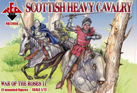 War of the Roses: Scottish Heavy Cavalry (12 Mtd) 1/72 Red Box Figures