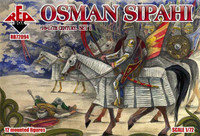 Osman Sipahi XVI-XVII Century Set #1 (12 Mtd) 1/72 Red Box Figures