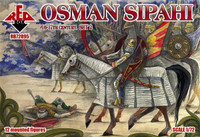 Osman Sipahi XVI-XVII Century Set #2 (12 Mtd) 1/72 Red Box Figures