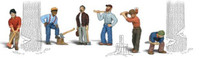 Scenic Accents Lumberjacks O Scale Woodland Scenics