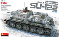 Soviet Su122 Early Production Self-Propelled Tank 1/35 Miniart Models