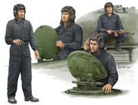 Soviet Tank Crew Figure Set (4) 1/35 Trumpeter