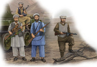 Afghan Rebels Figure Set (4) 1/35 Trumpeter
